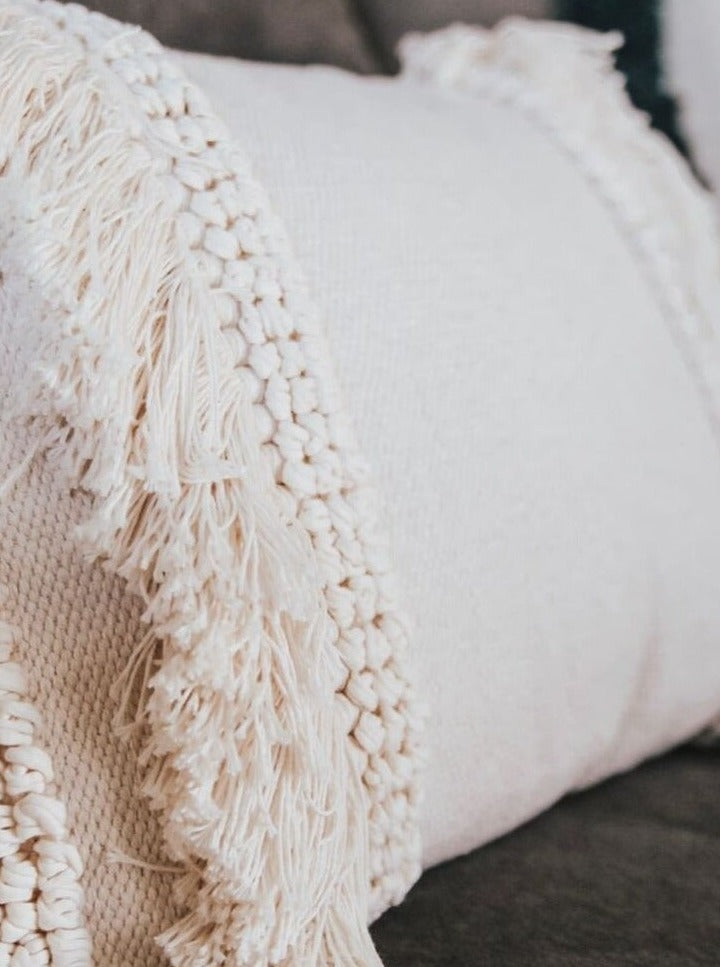 Bea Fringe Pillow - Cloth + Cabin