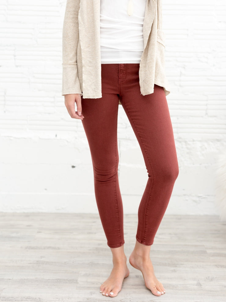 Olivia High Rise Skinny Jean - Cloth + Cabin
