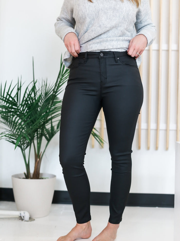 Olivia High Rise Wax Jean - Cloth + Cabin