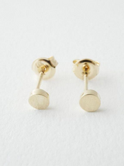 Mini Circle Stud Earrings - Cloth + Cabin