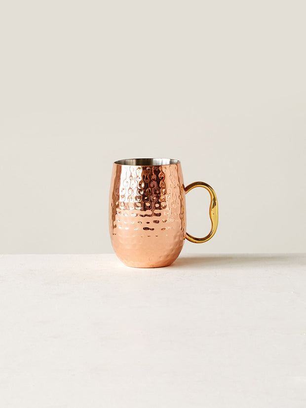 Copper Moscow Mule Mug - Cloth + Cabin