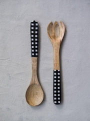 Buffalo Check Spoons - Cloth + Cabin
