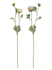 Faux Ranunculus Stem - Cloth + Cabin