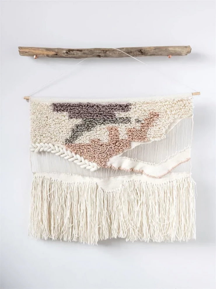 Amber Wool Wall Hanging - Cloth + Cabin