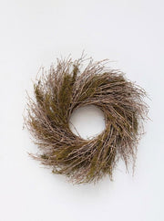 Dried Natural Twig Wreath