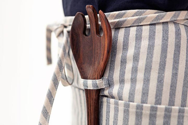 Striped Waist Apron