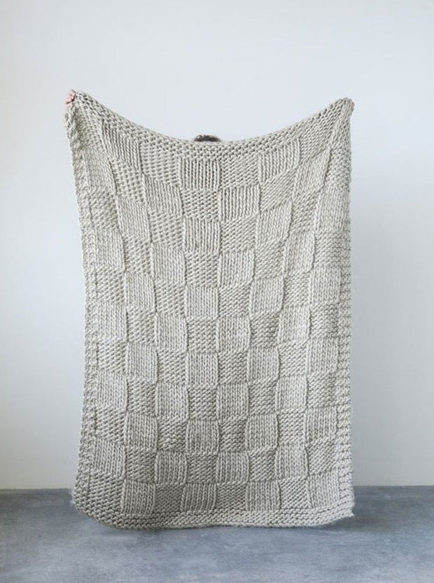 Liz Chunky Knit Throw - Cloth + Cabin