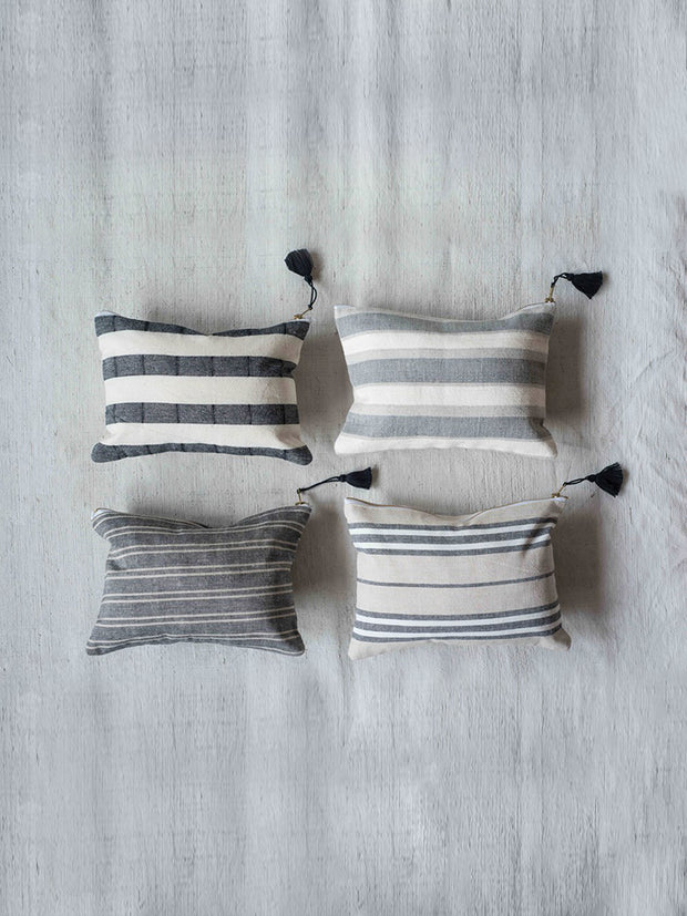 Stripe Tassel Pouches - Cloth + Cabin
