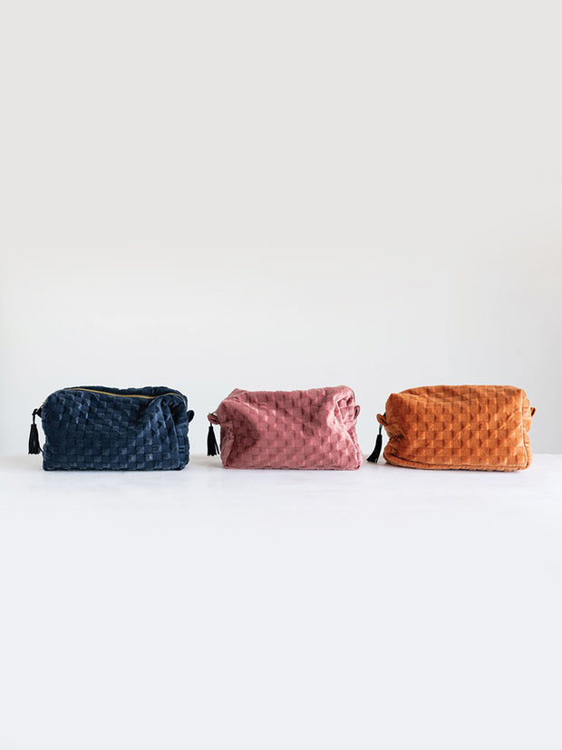 Jewel Zip Tassel Pouches - Cloth + Cabin