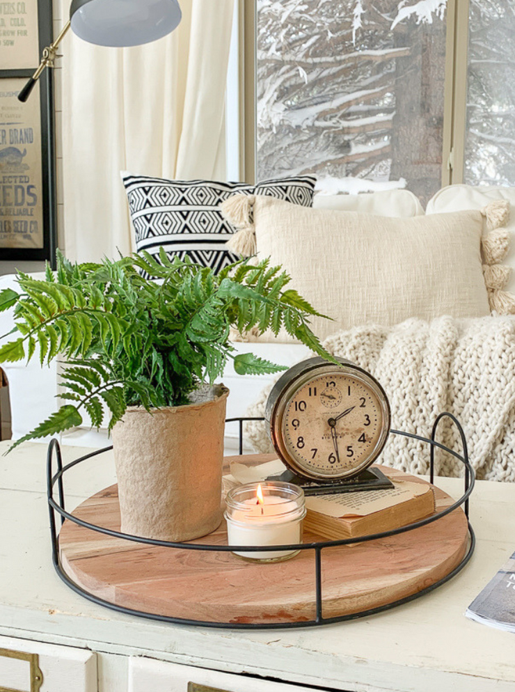 Faux Potted Fern - Cloth + Cabin
