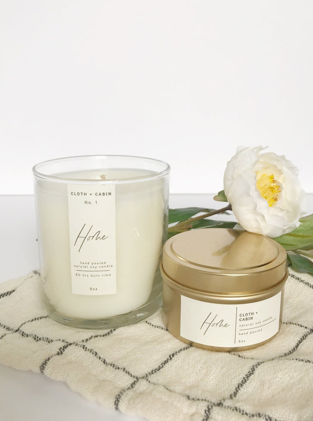 Cloth + Cabin Signature Candle / HOME - Cloth + Cabin