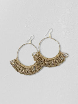 Brooke Hoop Earrings - Cloth + Cabin