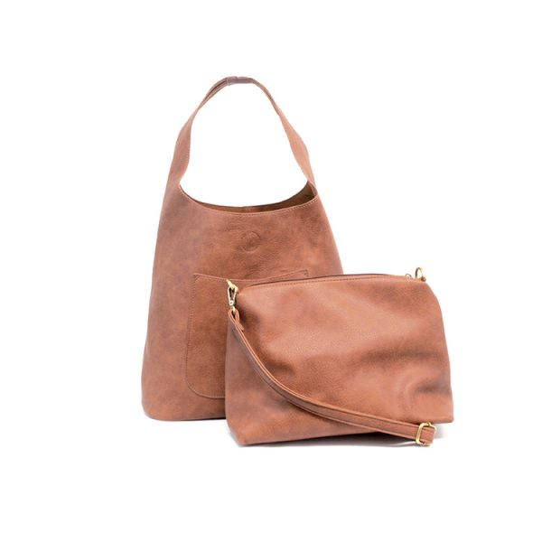 Molly Vegan Leather Hobo - Cloth + Cabin