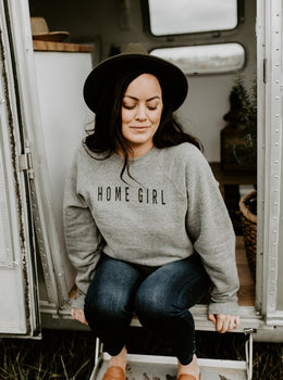 Exclusive Home Girl Sweatshirt - Cloth + Cabin