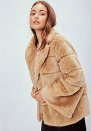 Vintage Faux Fur Mink Coat - Cloth + Cabin