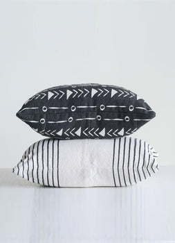 Leah + Luna Mudcloth Pillows - Cloth + Cabin