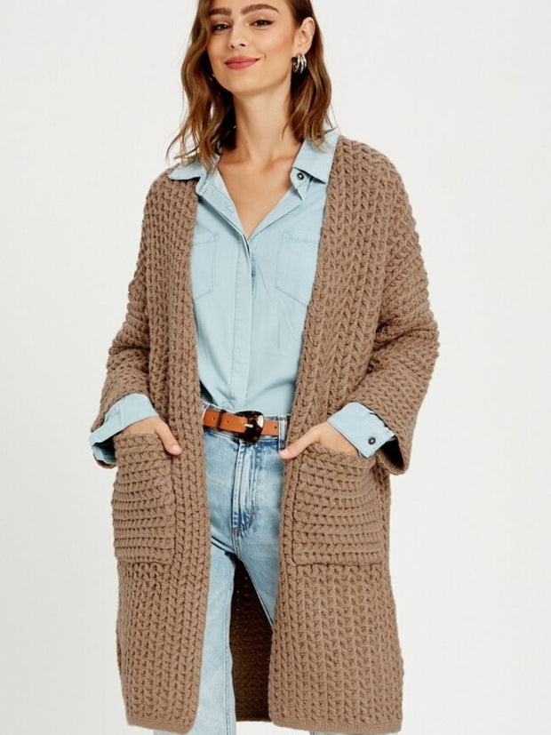 Paige Long Cardigan - Cloth + Cabin
