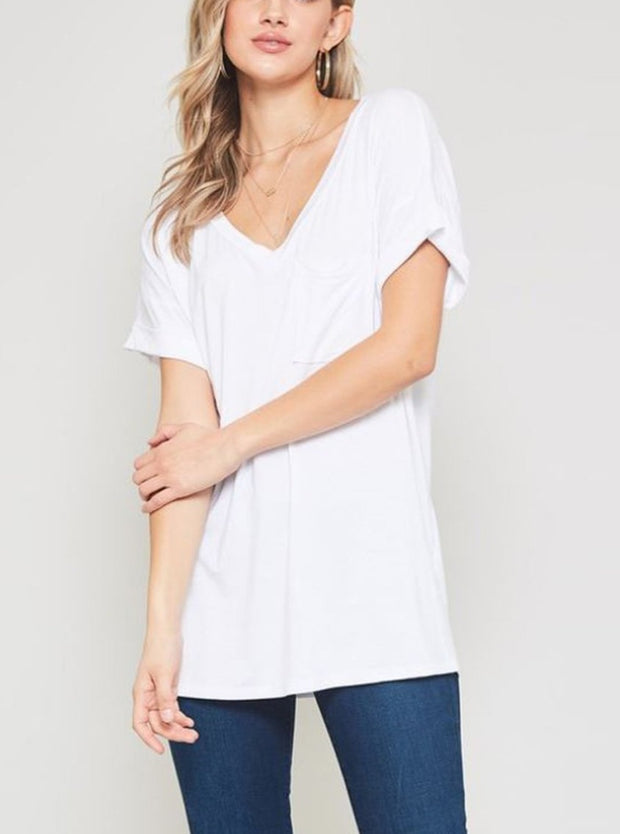 Everyday V-Neck Tee - Cloth + Cabin