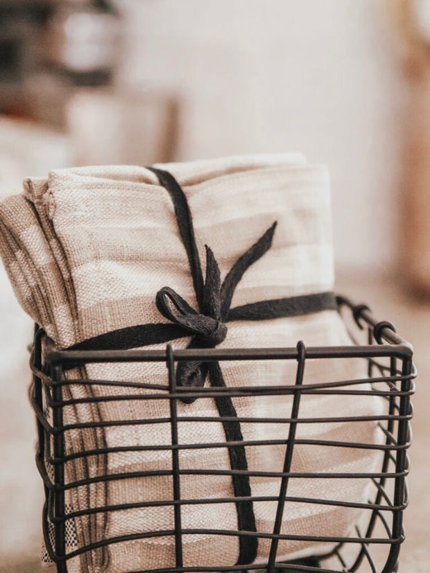 Kay Striped Tea Towels - Cloth + Cabin