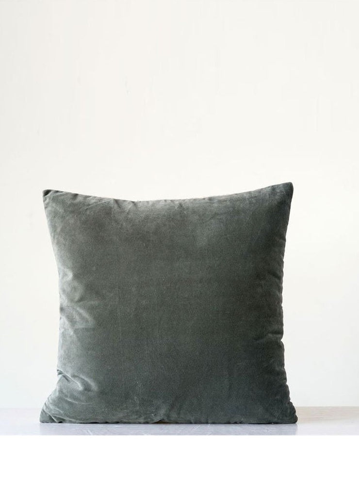 Vintage Farmhouse Velvet Pillow - Cloth + Cabin