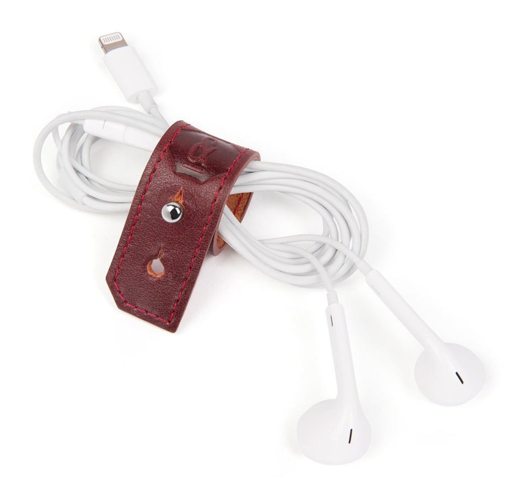 Burgundy Hanlon Cable Wrap