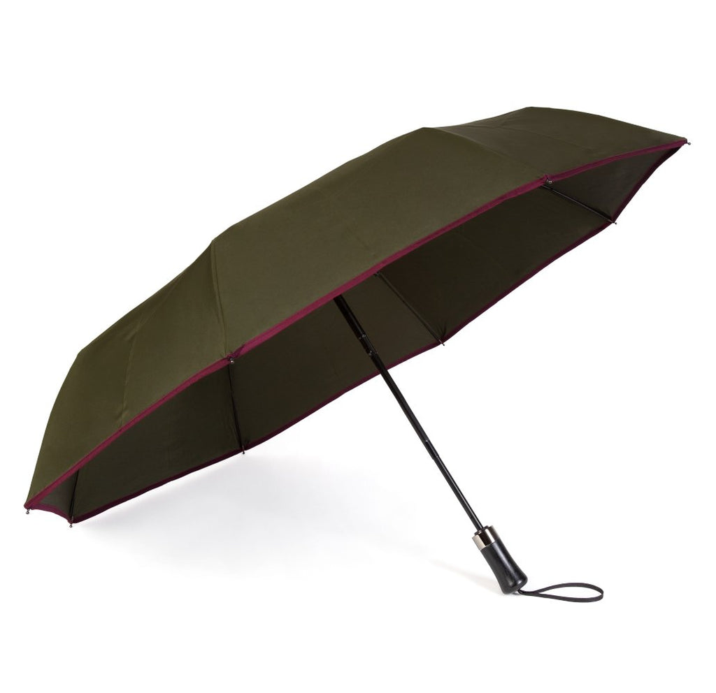 Dark Green Roscoe Telescopic Umbrella
