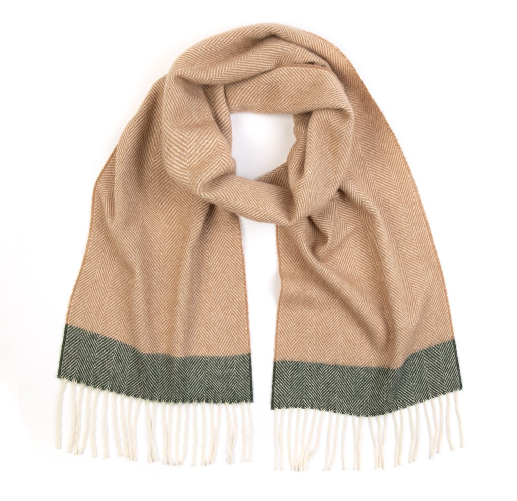 NEW Fawn Lambswool Bentham Scarf