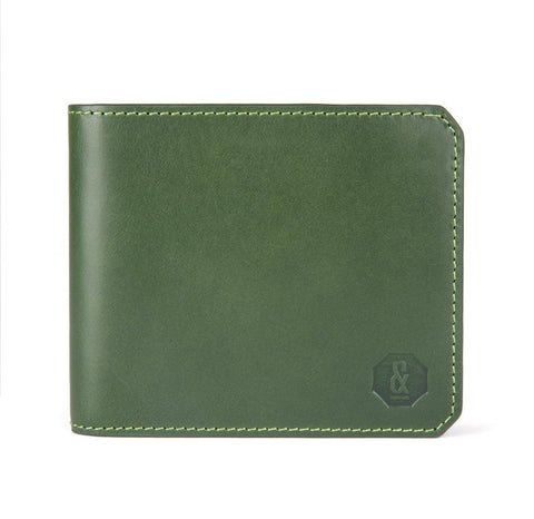 Dark Green Harrison Wallet