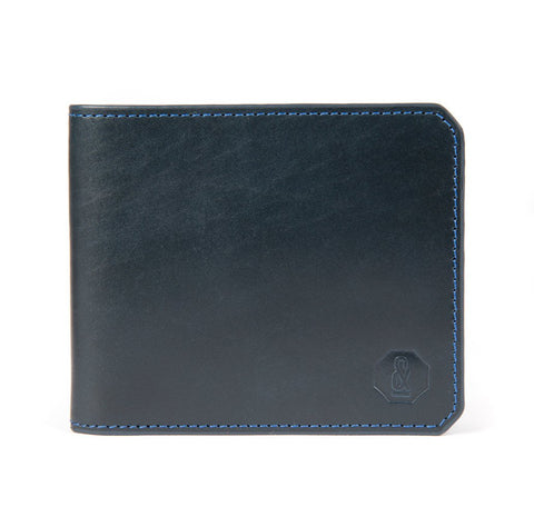 Navy Harrison Wallet