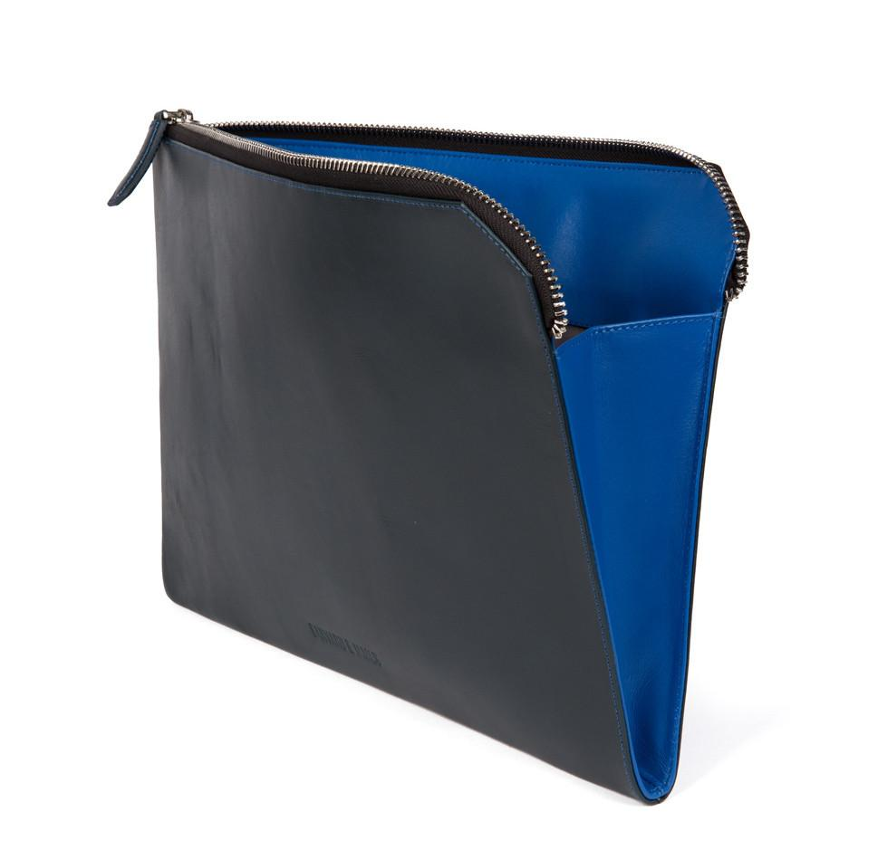 Navy Marlow Document Holder
