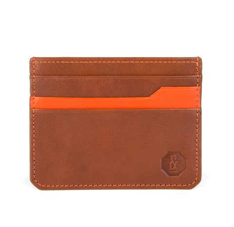 Tan Notley Card Holder