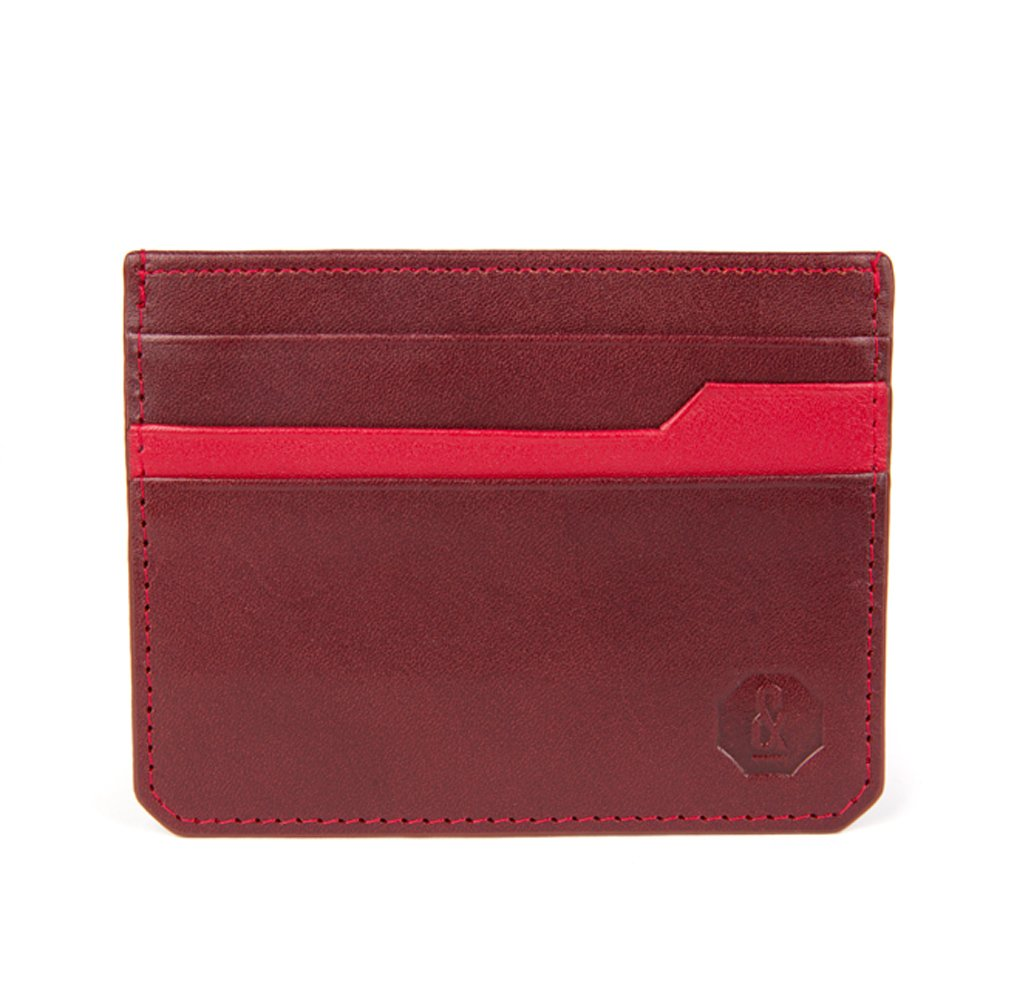 Wine Notley Card Holder