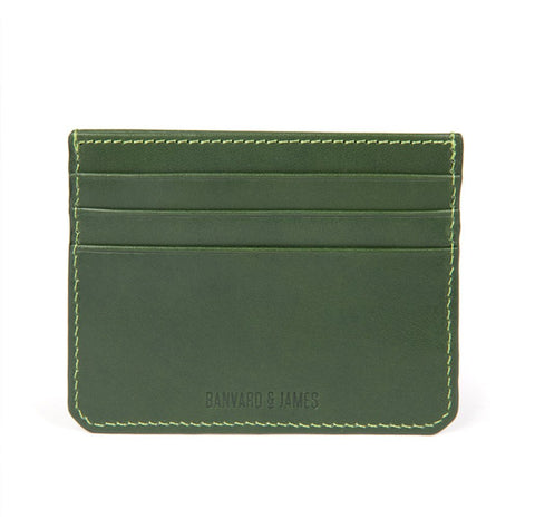 Dark Green Notley Card Holder