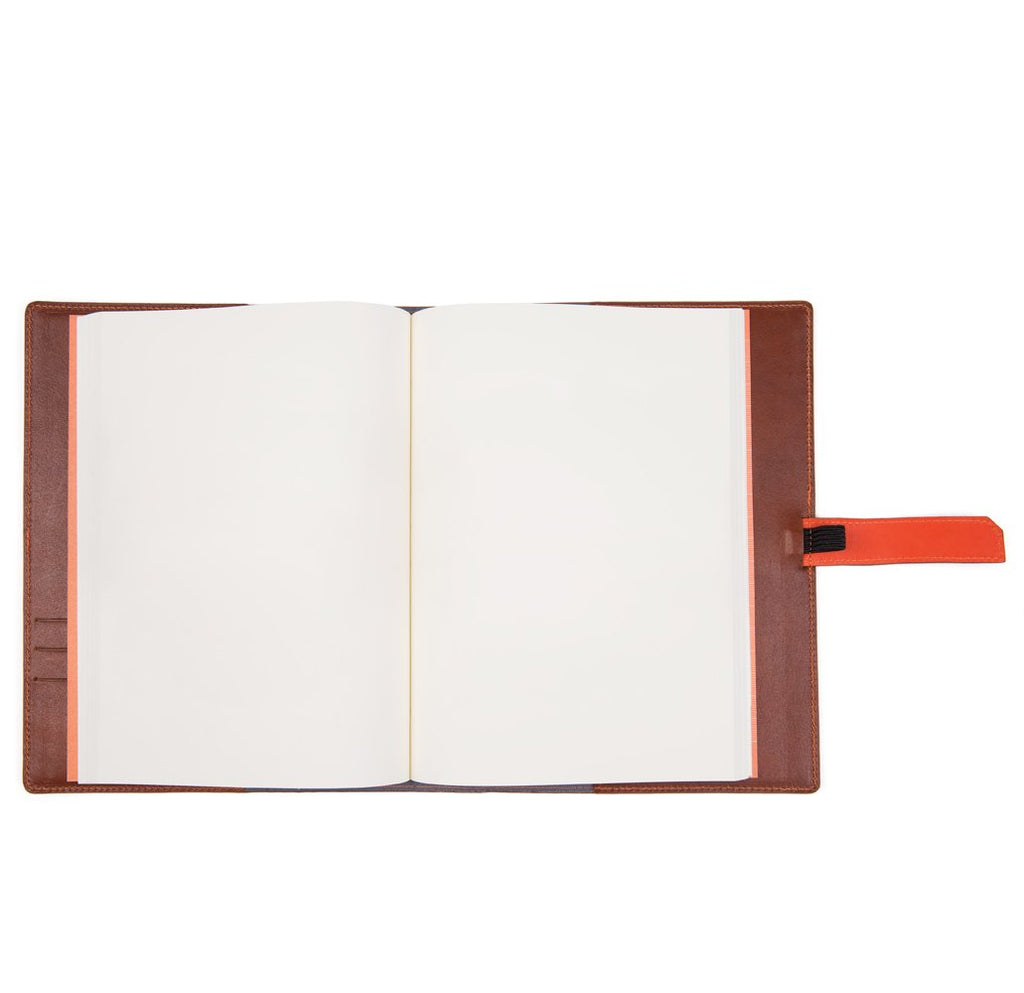 Tan A5 Leather Rapley Journal
