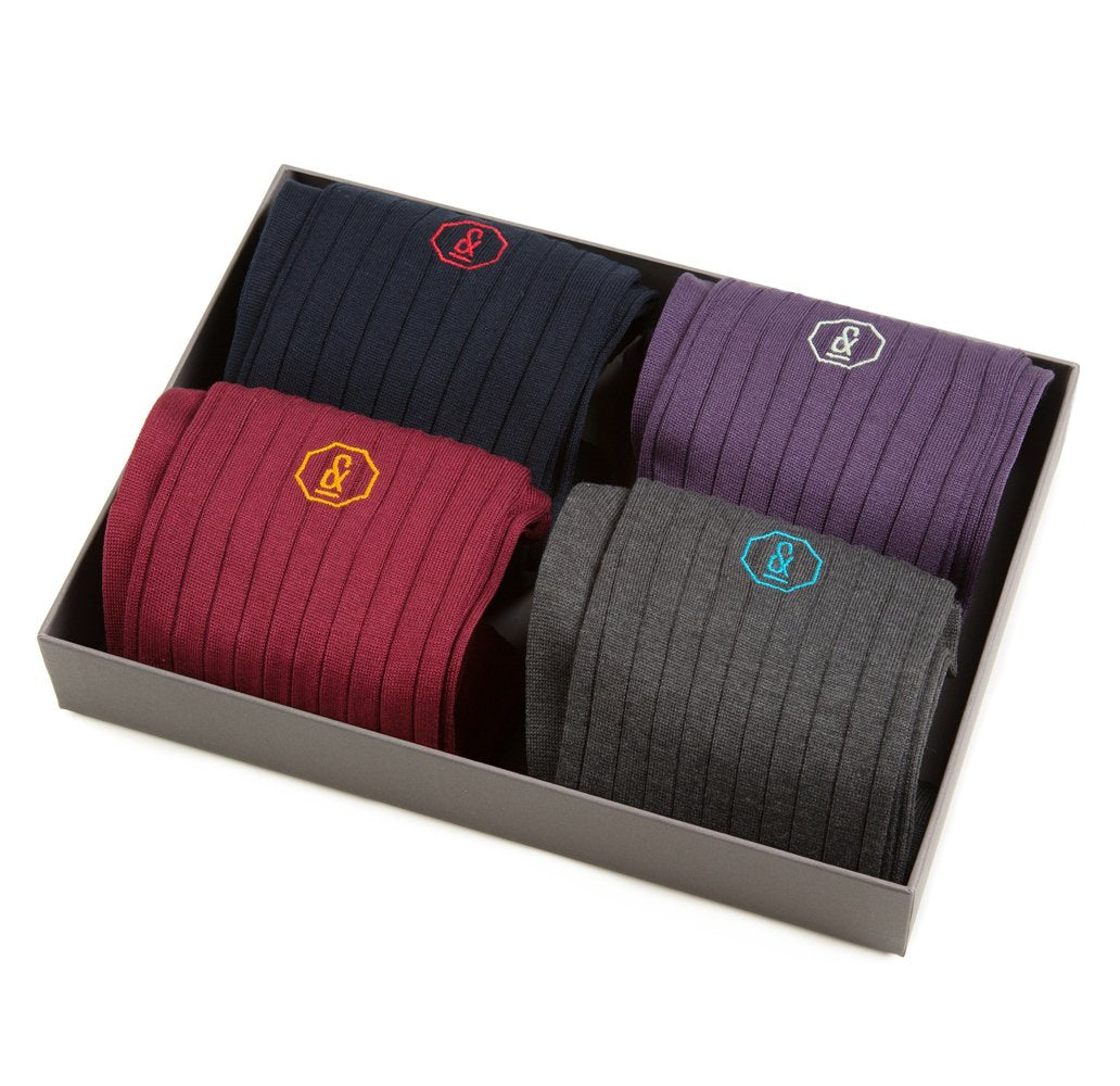 NEW Archer Socks - 4 Pair Traditional Gift Set