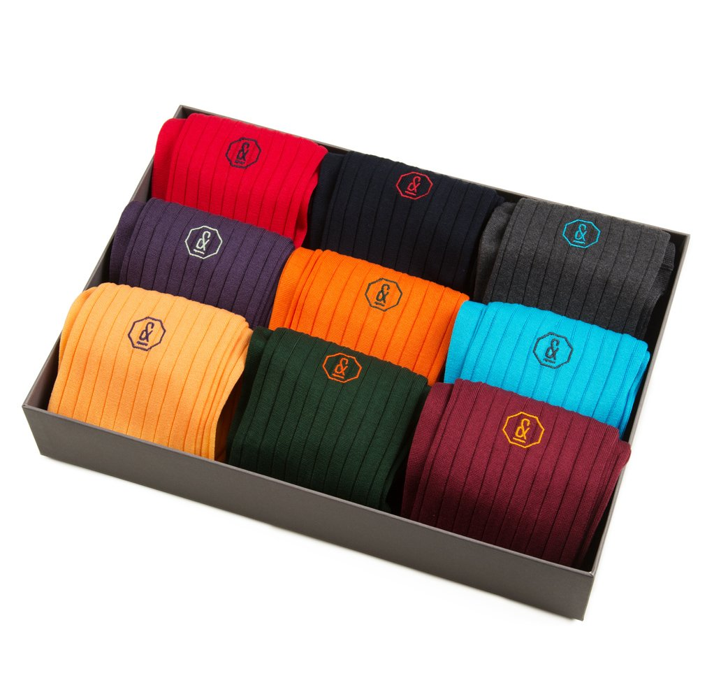 NEW Archer Socks - 9 Pair Mixed Gift Set