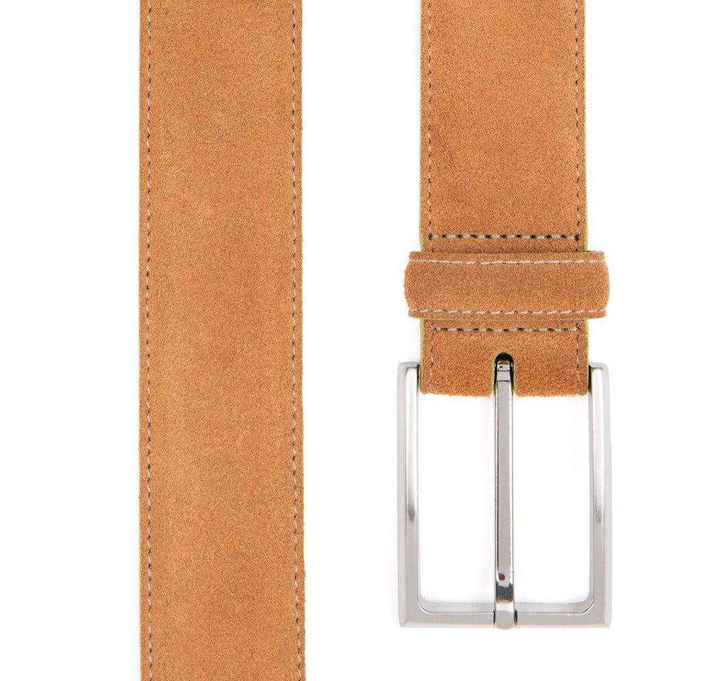 Tan Huxley Suede Belt