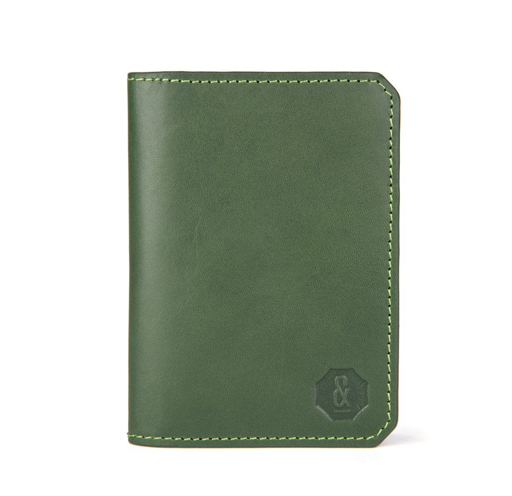 Dark Green Thorpe Card Wallet
