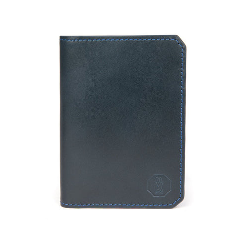 Navy Thorpe Card Wallet