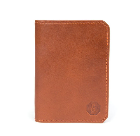 Tan Thorpe Card Wallet