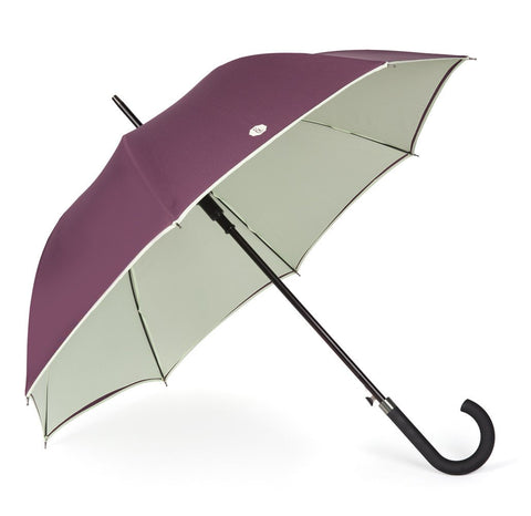 Purple & Mint Walker Umbrella