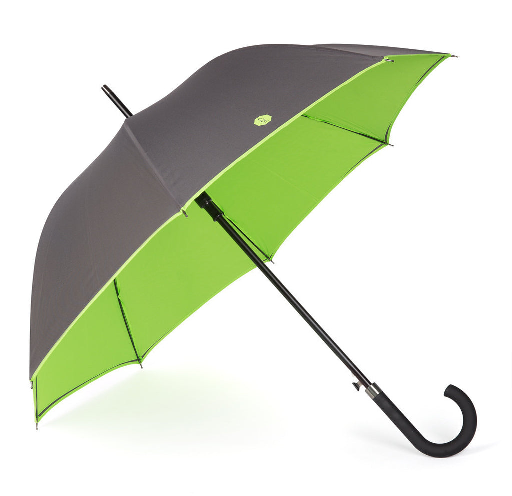 Charcoal & Lime Walker Umbrella - Banvard & James