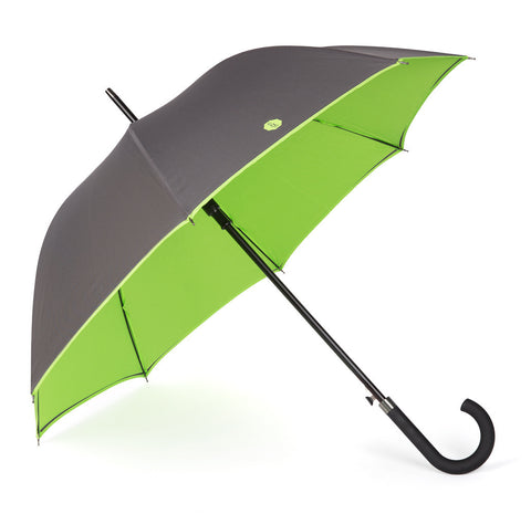 Charcoal & Lime Walker Umbrella
