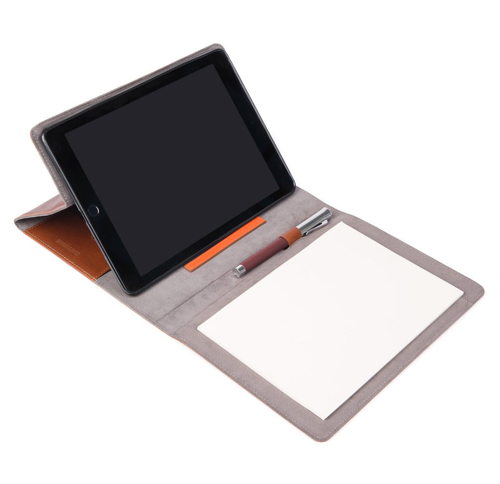 Tan Leather Chadwick iPad Organiser