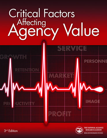 Critical Factors Affecting Agency Value (3rd edition)