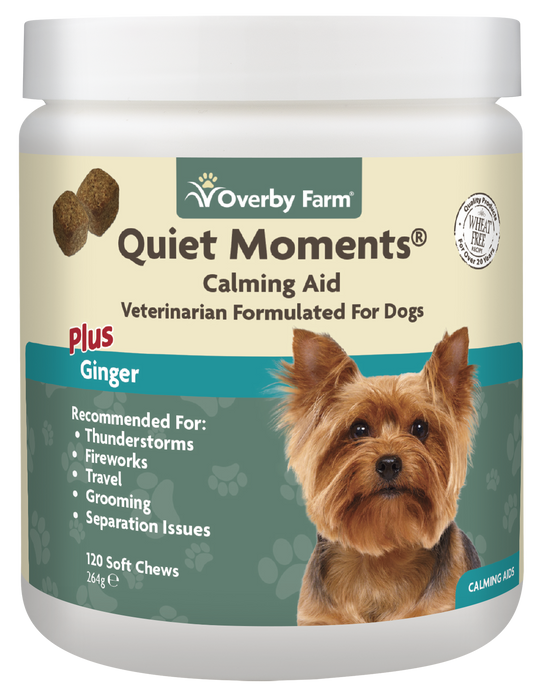Quiet Moments For Dogs Soft Chews 120pcs