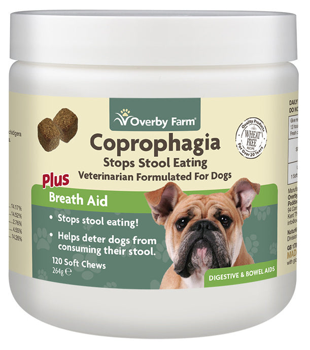 Coprophagia For Dogs Soft Chew 120pcs