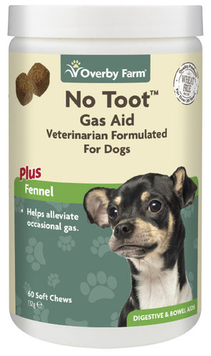 No Toot For Dogs Soft Chews 60pcs