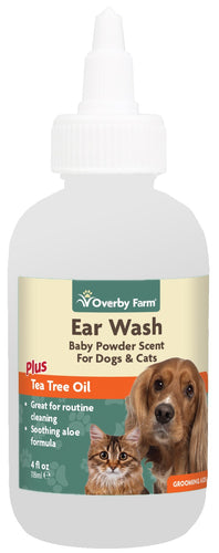 Ear Wash For Cats & Dogs Liquid 118ml
