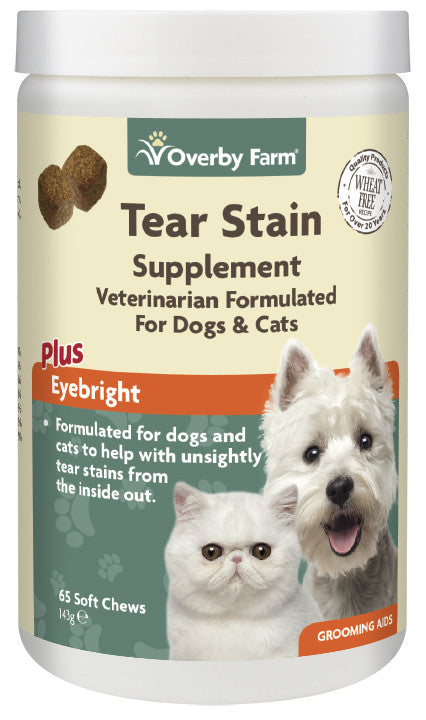 Tear Stain Supplement For Cats & Dogs Soft Chews 65pcs